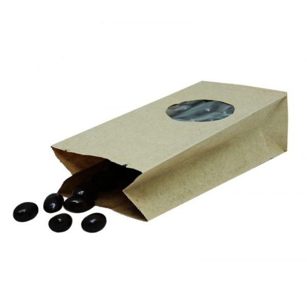 Vrečka za shranjevanje z oknom 170 х 80 х 50 mm (500 kos/pak)