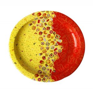 Papirnat krožnik d=225 mm Rog Izobilja (100 kos/pak)