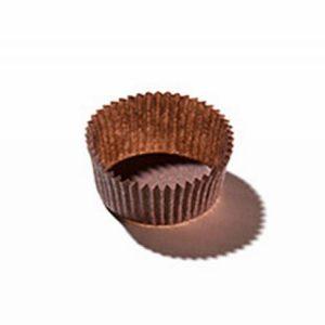 Papirčki za muffine d=35 mm h=20 mm rjavi (100 kos/pak)