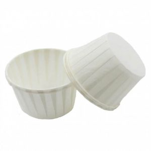 Papirnati papirčki za muffine d=50 mm h=40 mm beli  5000 kos/pak