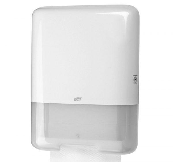 Tork Singlefold/C-fold podajalnik za ročne brisače bela (553000)