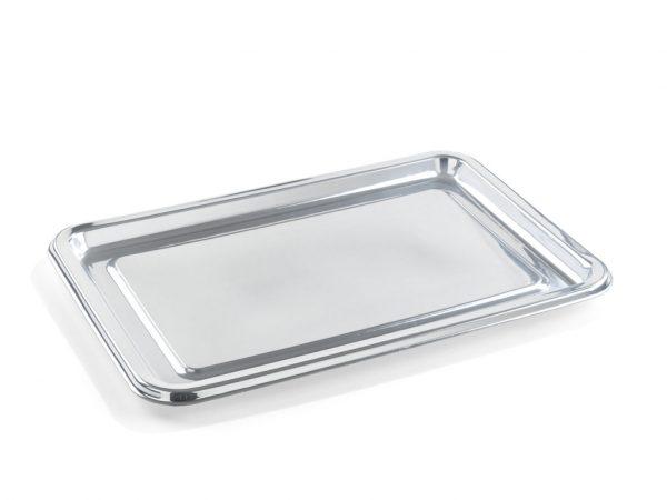 Pladenj Sabert 35×16 cm srebrn (5 kos/pak)