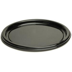 Pladenj Sabert d=26 cm črn (25 kos/pak)