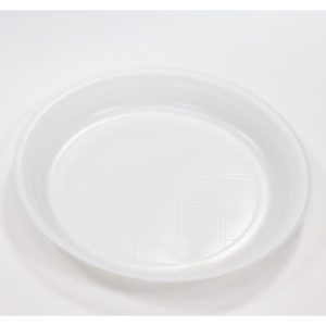 Krožnik PS d=205 mm bel (1000 kos/pak)