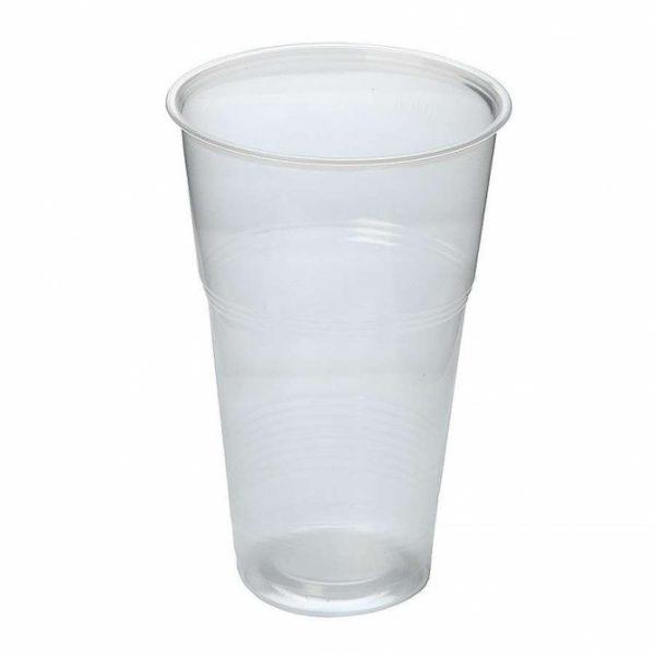 Kozarec PP 330 ml prozoren (50 kos/pak)