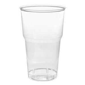 Kozarec PP 500 ml prozoren (50 kos/pak)