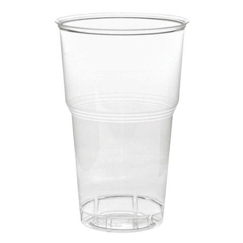 Kozarec 500 ml PP prozoren (50 kos/pak)