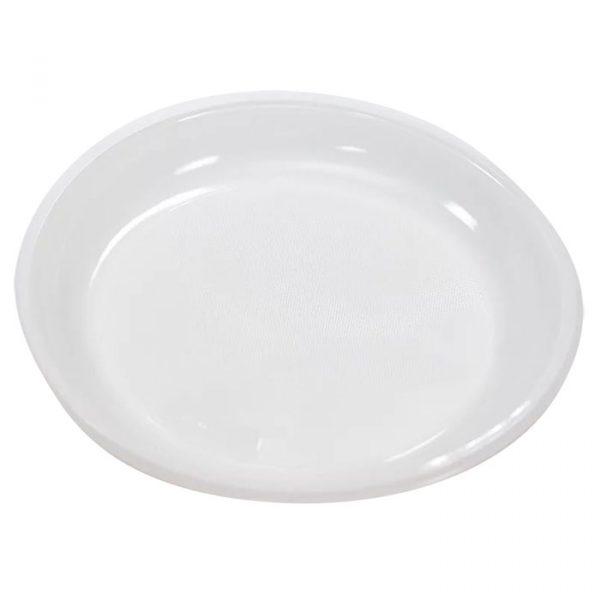 Plastičen krožnik d=220 mm PP (100 kos/pak)