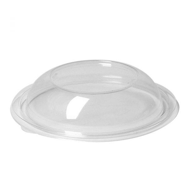 Okrogla posodica s pokrovom PET 750 ml prozorna, 75 kos (komplet)