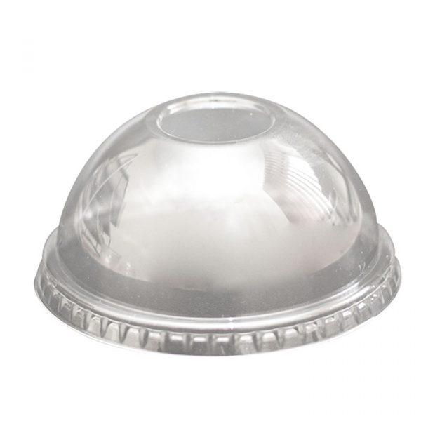 Visok pokrov brez luknje PET TaMbien 420/500 ml d=98 mm (50 kos/pak)