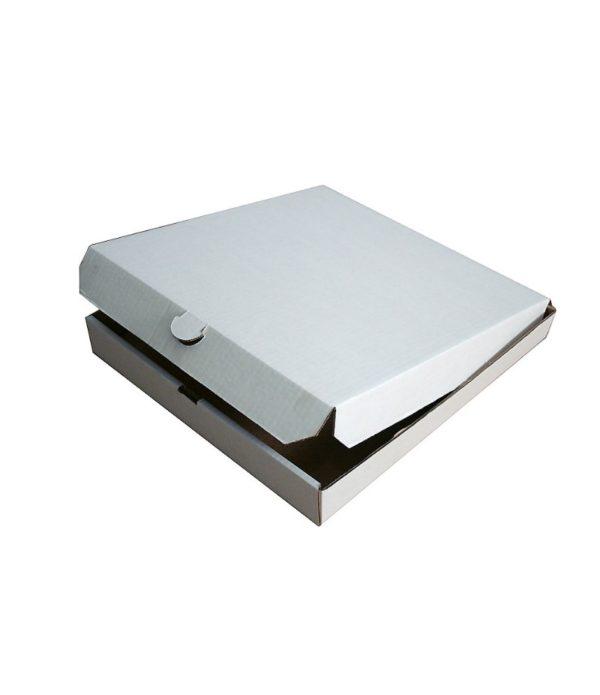 Škatla za pizzo 250x250x40 mm mikro-val karton (50 kos/pak)