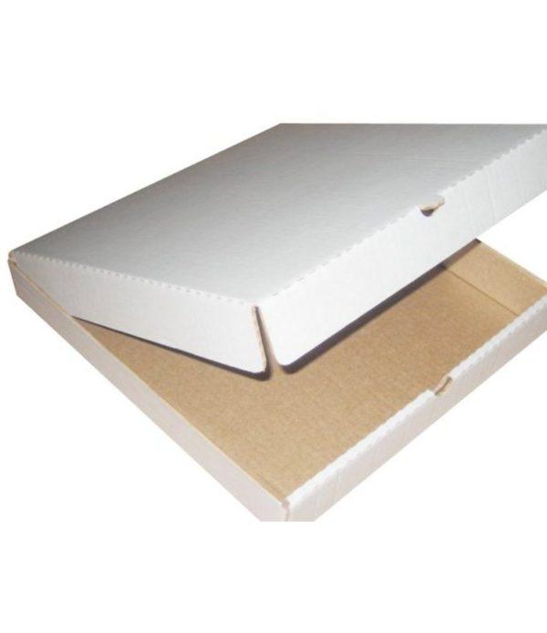 Škatla za pizzo 340x340x40 mm mikro-val karton (50 kos/pak)