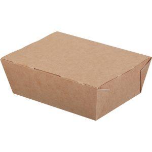 Lunch box ECO LUNCH 600 ml kraft (350 kos/pak)