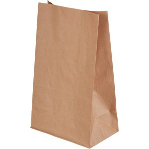 Papirnata vrečka 180х110х300 mm kraft (500 kos/pak)