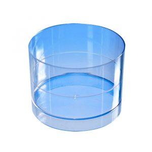 Finger food posodica PS 60 ml d=53 mm Cilinder prozorna (15 kos/pak)