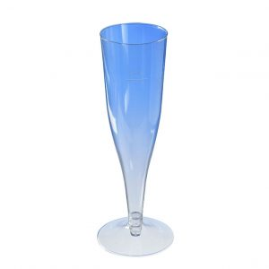 Šampanjski kozarec 180 ml, prozoren PS (450 kos/pak)