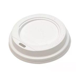 Pokrov s luknjo PS d=70 mm bel (100 kos/pak)