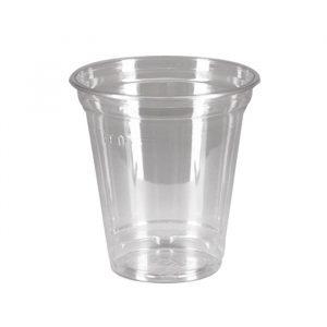 Kozarec PET 350 ml d=95 mm prozoren (50 kos/pak)
