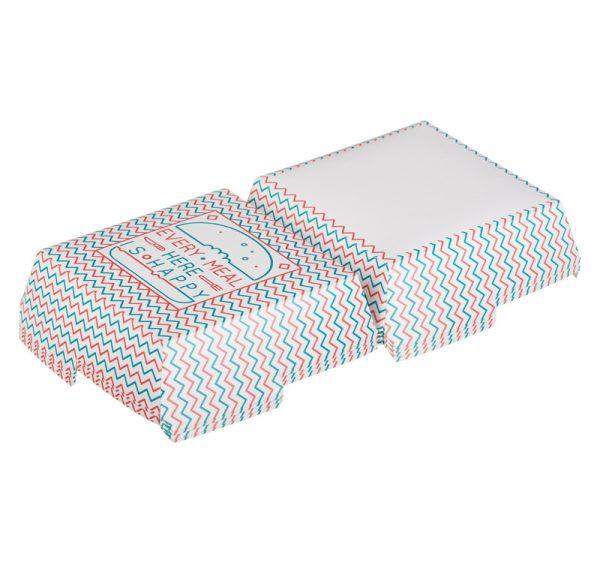 Škatla za hamburgerje HAPPY LIFE 120 х 120 х 70 mm (50 kos/pak)