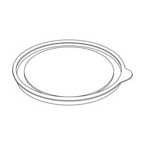 Pokrov BOPS/PET d=99 mm h=6 mm (1100 kos/pak)