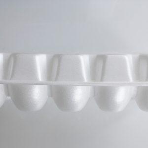 Embalaža za jajca stiropor 250x105x65 mm (100 kos/pak)