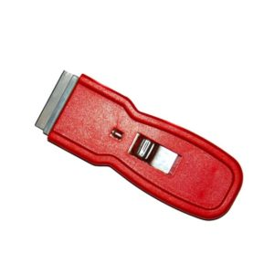 Strgalo z izvlečnim nožem, plastičen ročaj, 4 cm