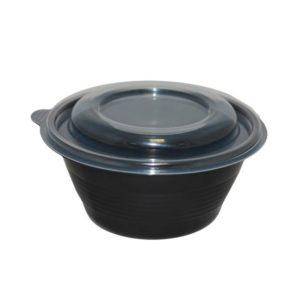 Pokrov za posodico za juho PP 350/500 ml d=145 mm prozoren (90 kos/pak)