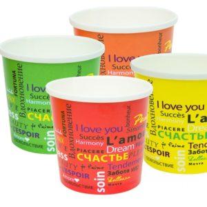 Papirnata posoda za juho 500 ml d=98 mm h=99 mm Fiesta (50 kos/pak)