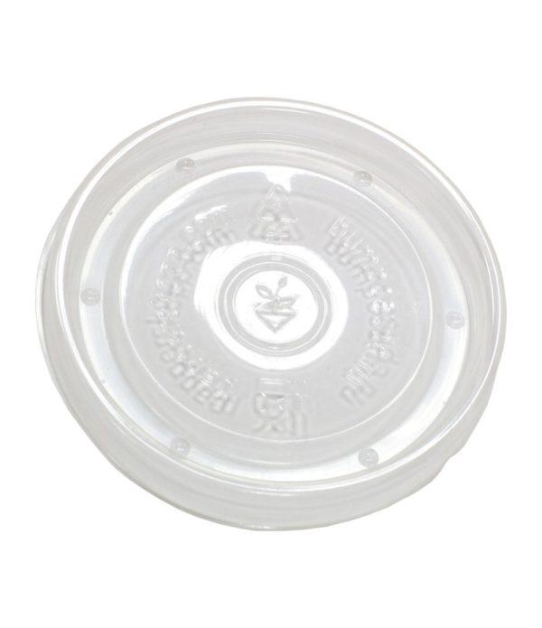 Pokrov PP za papirnato posodico 500 ml d=98 mm (40 kos/pak)