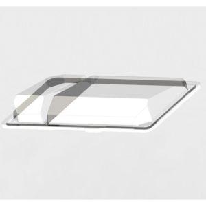 Pokrov za posodico za suši PS 220 x 148 x 40 mm prozoren (540 kos/pak)