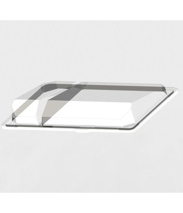 Pokrov za posodico za suši PS 220x148x40 mm prozoren (540 kos/pak)