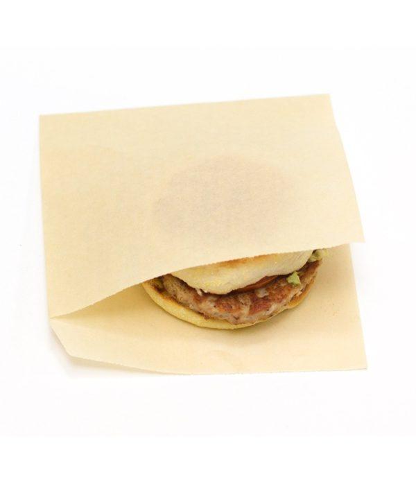 Vrečka za hamburger 155х170 mm kraft (2000 kos/pak)