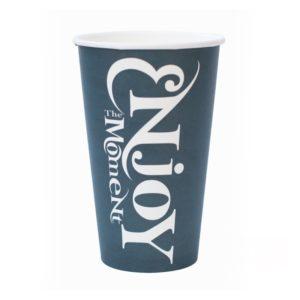 Papirnat kozarec za tople napitke 400 (518) ml ENJOY THE MOMENT (50 kos/pak)