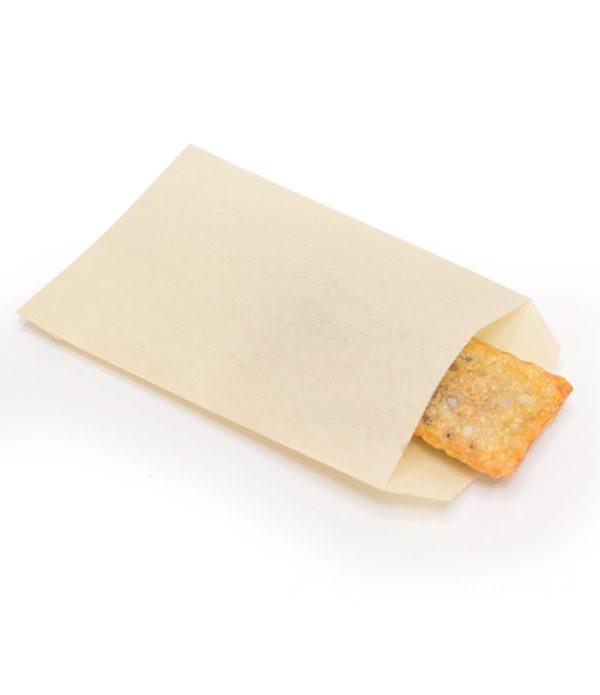 Papirnata vrečka za fast-food 110×180 mm kraft (3000 kos/pak)