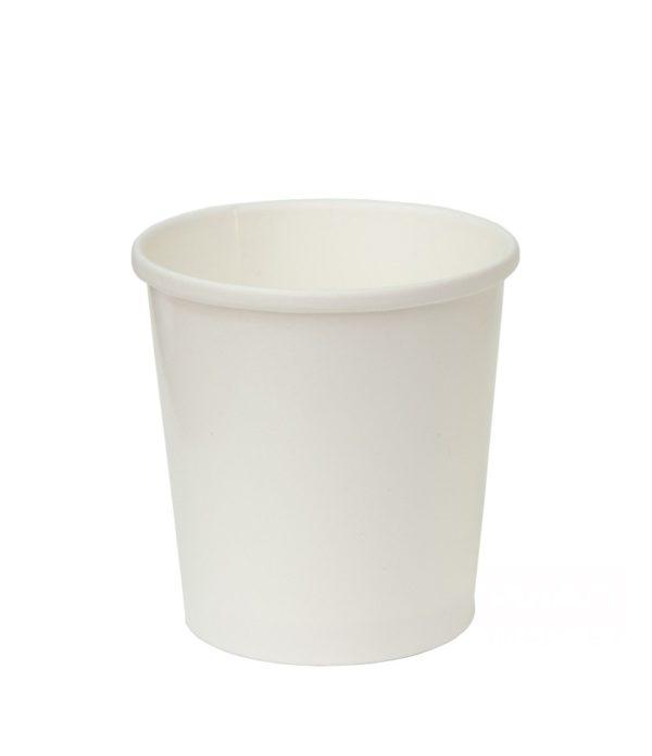 Papirnata posoda za juho 500 ml d=98 mm h=99 mm bela (25 kos/pak)