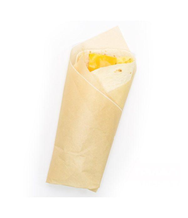 Ovojni papir za hamburgerje 305х305 mm kraft (1000 kos/pak)