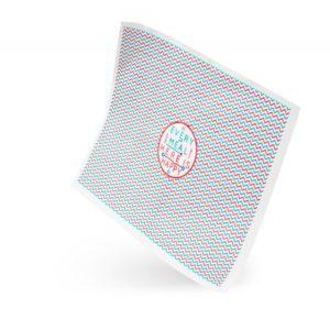 Ovojni papir za hamburgerje HAPPY LIFE 250 x 320 mm voščen (3000 kos/pak)