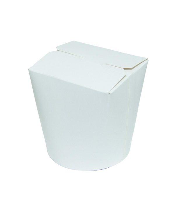 Papirnata posoda za WOK 500 ml bela (30 kos/pak)