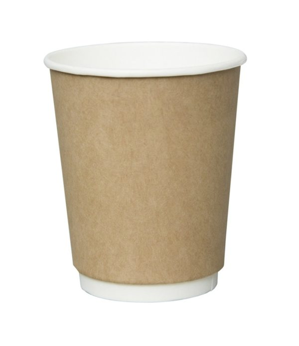 Papirnat kozarec 300 ml d=90 mm 2-slojni kraft (20 kos/pak)