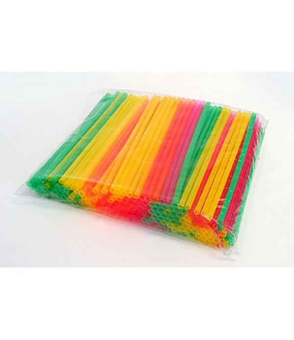 Slamice plastični l=240 mm d=8 mm barvne  250 kos/pak