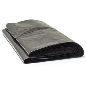 Vrečka za smeti 180 L črna HDPE (50 kos/pak)