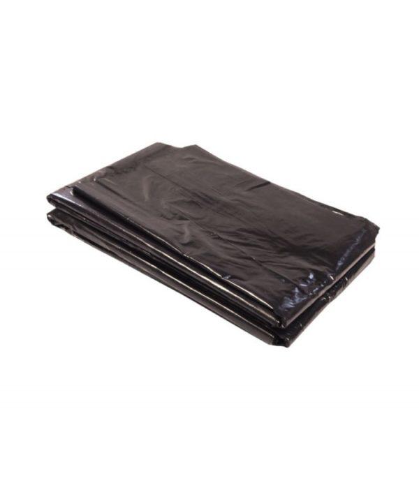 Vrečka za smeti 200 L črna, 80µm, HDPE (50 kos/pak)