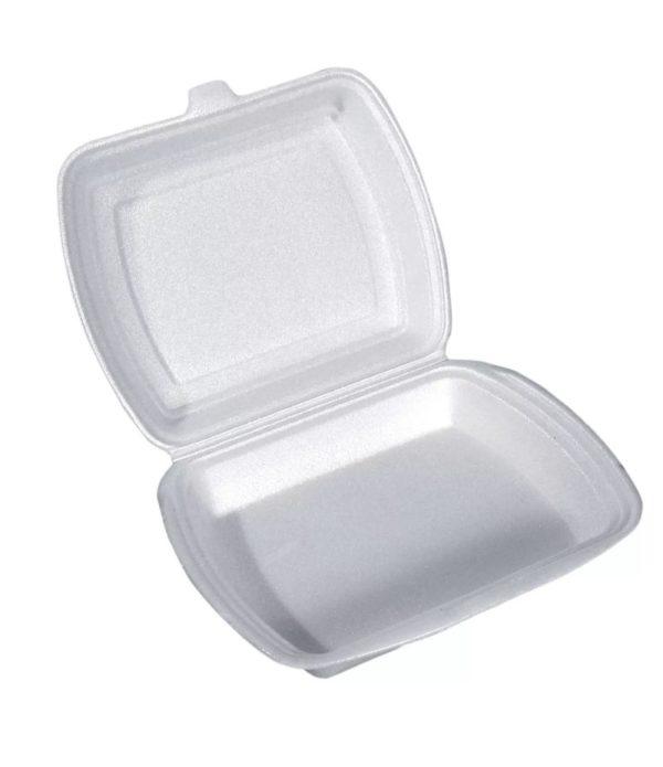 Lunch box 1-delna 250 x 210 x 65 mm (100 kos/pak)