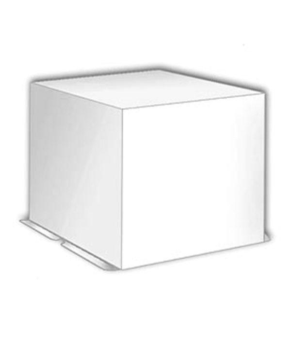 Škatla za torto kartonast 300 x 300 x 250 mm bel, 20 kos (komplet)