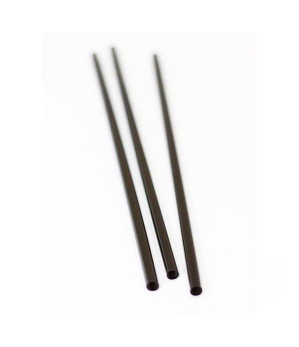 Slamice PP l=25 cm d=8 mm črne