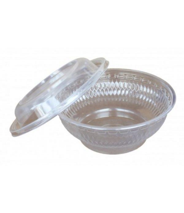 Posodica PS 700 ml d=155 mm h=60 mm prozorna (400 kos/pak)
