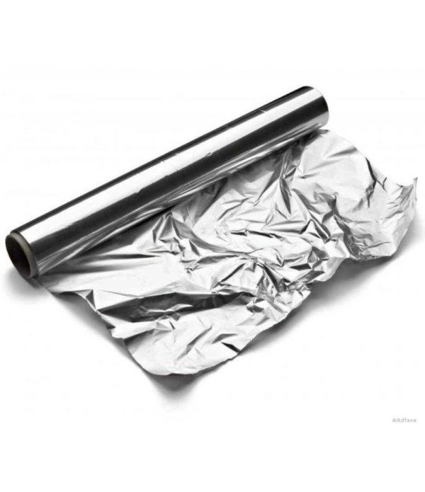 Aluminijasta folija 300mm x 100m, 11µm