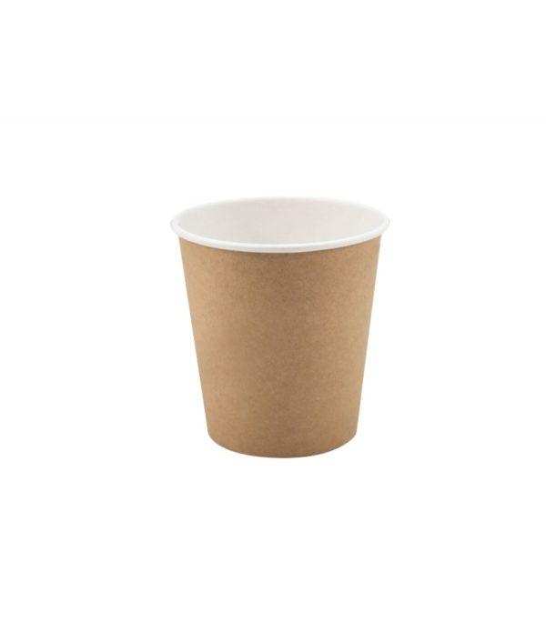Papirnat kozarec 250 ml d=80 mm 1-slojni kraft (50 kos/pak)