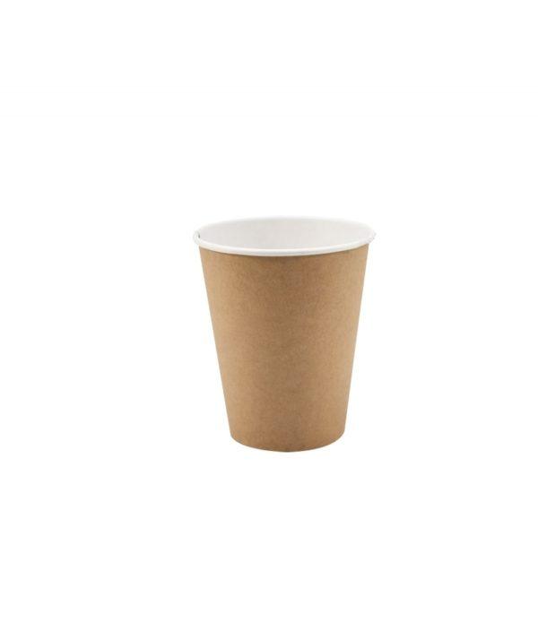 Papirnat kozarec 330 ml d=80 mm 1-slojni kraft (50 kos/pak)