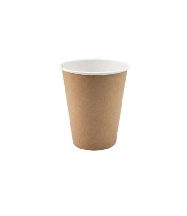 Papirnat kozarec 350 ml d=90 mm 1-slojni kraft (37 kos/pak)